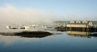 Lifting Fog Southwest Harbor