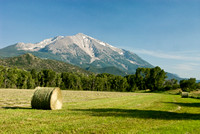 Haystack and Mountain
