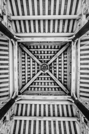 Hue Pattern (roof rafters