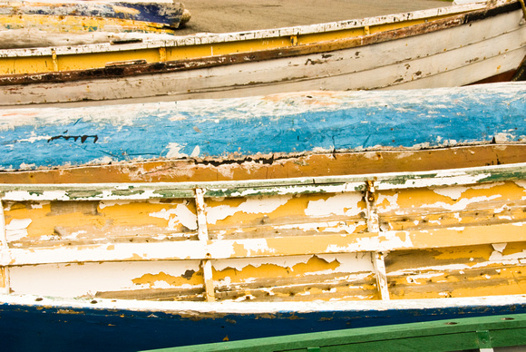 Paint on Old Boats