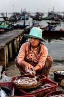Unloading the Day's Catch - near Hoi An