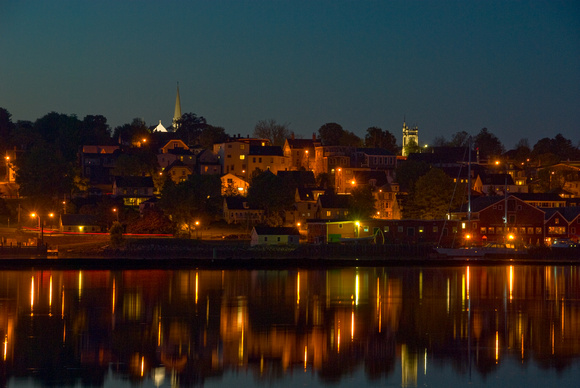 Lunenburg at Night